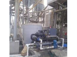 冷水机组在混泥土搅拌站应用