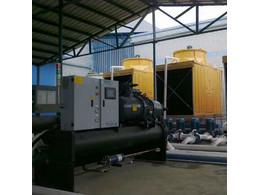 风冷式冷水机压缩机效率低、失去工作能力的判断。